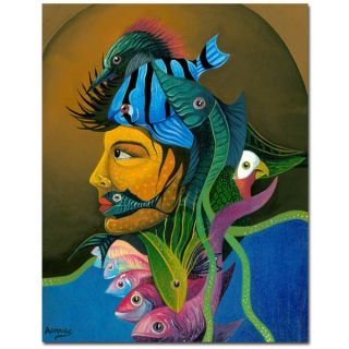 Armando Looking at You Canvas Art   15764970