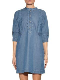 Angie scallop edged denim dress  M.i.h Jeans US
