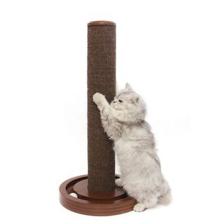 Merry Products Geneva Cat Scratching Post with Toy Base   16271212