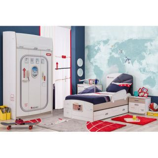 First Class Airplane Customizable Bedroom Set