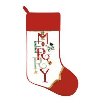Needlepoint Stocking Merry   17720058 Great