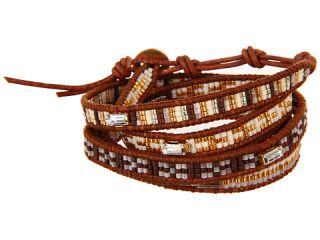 Chan Luu 32 Beaded Brown Mix Natural Brown Bracelet, Brown