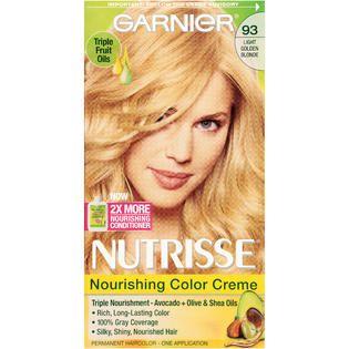 NUTRISSE 93 Light Golden Blonde (Honey Butter) Nourishing Color