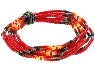 Chan Luu Multi Strand Stretch Seed Bead Bracelet Tango