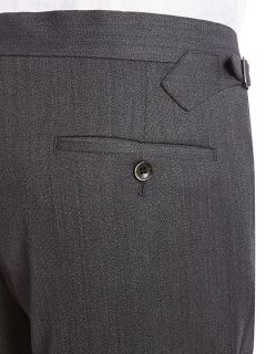 Chester Barrie Cavalry Twill Tailored Fit Trouser Grey