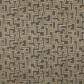 F636 Light Blue Geometric Outdoor Indoor Marine Scotchgarded Fabric