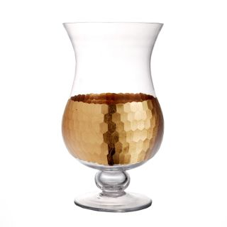 12.6 inch Daphne Gold Hurricane Candle Holder   Shopping