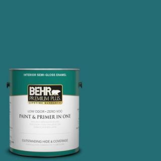 BEHR Premium Plus 1 gal. #M460 7 Antigua Semi Gloss Enamel Interior Paint 330001