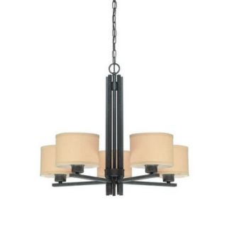 Dolan Designs Tecido 5 Light Chandelier