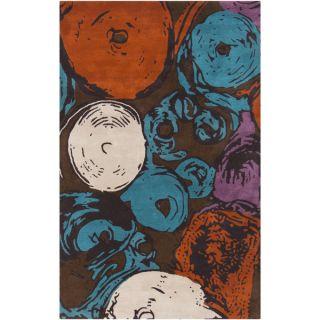 Mike Farrell :Hand Tufted Amanda Geometric Wool Rug (33 x 53