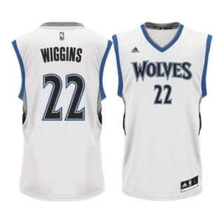 Andrew Wiggins Minnesota Timberwolves adidas Home Replica Jersey   White