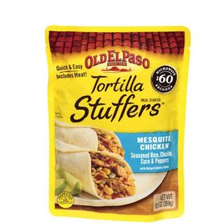Old El Paso Tortilla Stuffers Mesquite Chicken Meal Starter, 9.5 oz