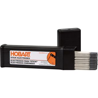 Hobart Stick Electrodes — 6013, 3/32in. x 12in.L, 5-Lb. Container, Model#770466  Stick Electrodes