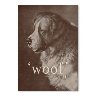Famous Quote Dog Poster Gallery by Florent Bodart Photographic Print