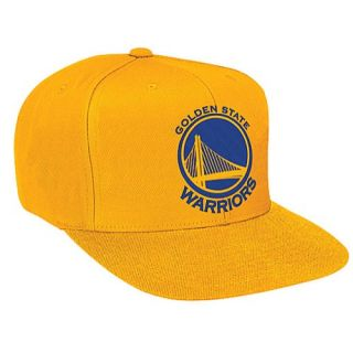 Mitchell & Ness NBA Solid Snapback   Mens   Accessories   Golden State Warriors   Yellow