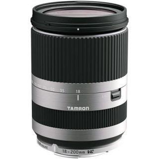 Tamron 18 200mm f/3.5 6.3 XR DI III VC Macro Lens f/Canon EOS M   Silver AFB011EMS 700