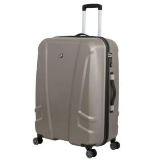 BMW 27 in. Champagne Hardside Spinner Suitcase 0133565175