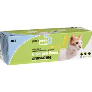 Van Ness: Drawstring Extra Grand Cat Pan Liners, 6 Ct