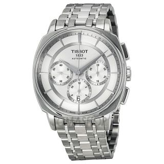 Tissot T Lord Automatic Chronograph Stainless Steel Mens Watch