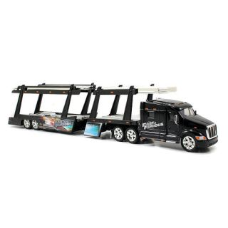 Jada Toys Fast and Furious 1:64 Scale Diecast Peterbilt Model 387 Hauler   Car Carrier    Jada Toys, Inc.