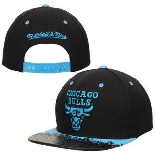 Chicago Bulls Mitchell & Ness Neon Lava Snapback Hat   Black/Blue