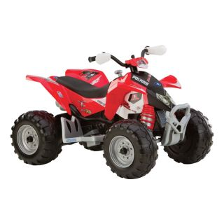 Peg Perego 12 Volt Polaris Outlaw ATV, Model# IGOR0044  Diggers   Ride Ons