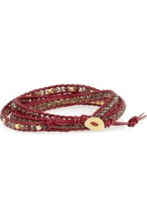 Cord and beaded bracelet  Chan Luu