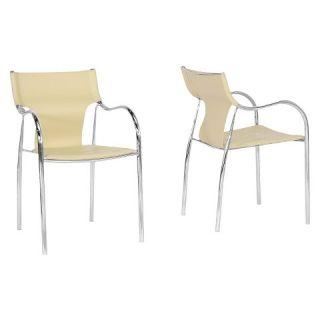 Harris Modern Dining Chair Metal   Baxton Studio