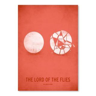Americanflat Lord of the Flies Minimal Poster Graphic Art