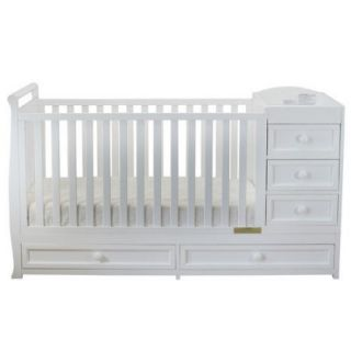 AFG Baby Furniture Daphne 3 in 1 Convertible Crib