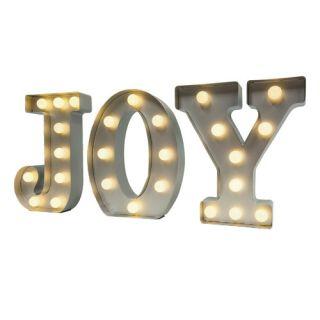 9ID Metal Joy Marquee by MrChristmas