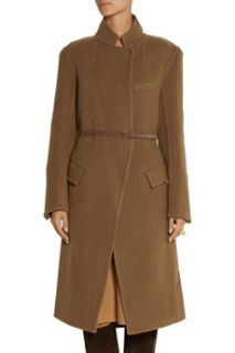 Belted wool blend coat  Donna Karan New York