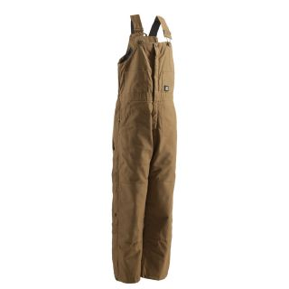 BERNE APPAREL Rigid Brown Men's 3XL Long Duck Overalls