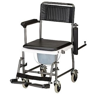 Nova Medical Products Shower Transport Chair Commode 37.25 x 22