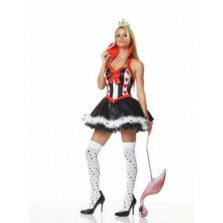 Leg Avenue Sexy Queen of Hearts Halloween Costume