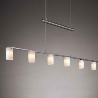 George Kovacs Counter Weights Chandelier in Brushed Nickel