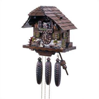 Chalet 8 Day Movement Cuckoo Wall Clock by Schneider