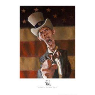 Barack Obama   Obama Wants You Movie Poster (11 x 17)