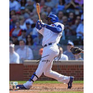 Jorge Soler Chicago Cubs  Authentic Autographed 8 x 10 Vertical Hitting Photograph