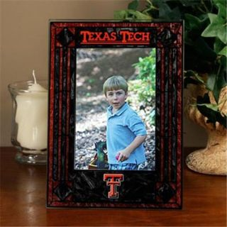 Memory Company MC COL TXT 234 Texas Tech Red Raiders Portrait Art Glass Picture Frame
