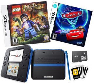 Nintendo 2DS Bundle with LEGO Harry Potter & Cars —