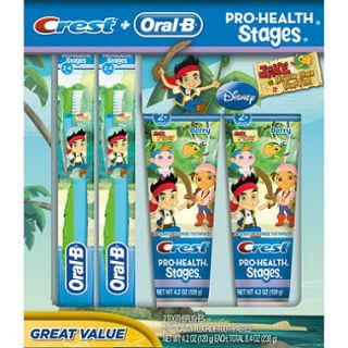 Oral B Kids Pro Health Stages   Jake and the Never Land Pirates