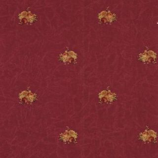 The Wallpaper Company 10 in. x 8 in. Red Rose Toss Wallpaper Sample WC1281159S