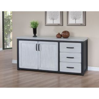 Heritage Cloudy White 3 drawer Buffet   80005283