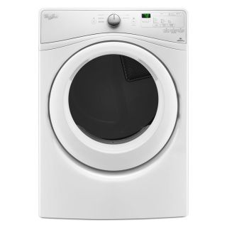 Whirlpool 7.4 cu ft Stackable Electric Dryer (White) ENERGY STAR