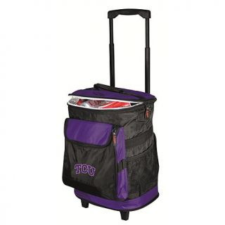 Logo Chair Rolling Cooler   Texas Christian University   7516288