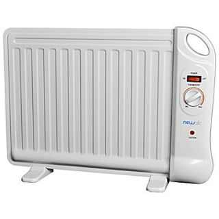 NewAir Personal Office Heater, 40 sq. ft., 400 Watt, White (AH 400)