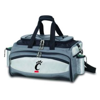 Picnic Time Cincinnati Bearcats   Vulcan Portable Propane Grill and Cooler Tote with Embroidered Logo 770 00 175 662