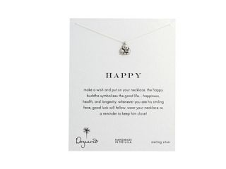 Dogeared Happy Buddha Reminder Sterling Silver