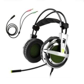 Sades SA 928 Stereo Lightweight PC Gaming Headphones/Headset, 3.5 mm Jack with Mic for Laptop PC/MAC